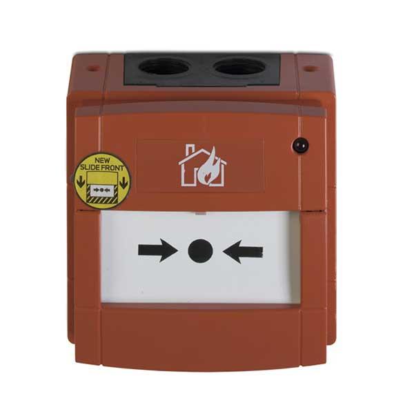 Buton adresabil de avertizare manuala incendiu, IP 67