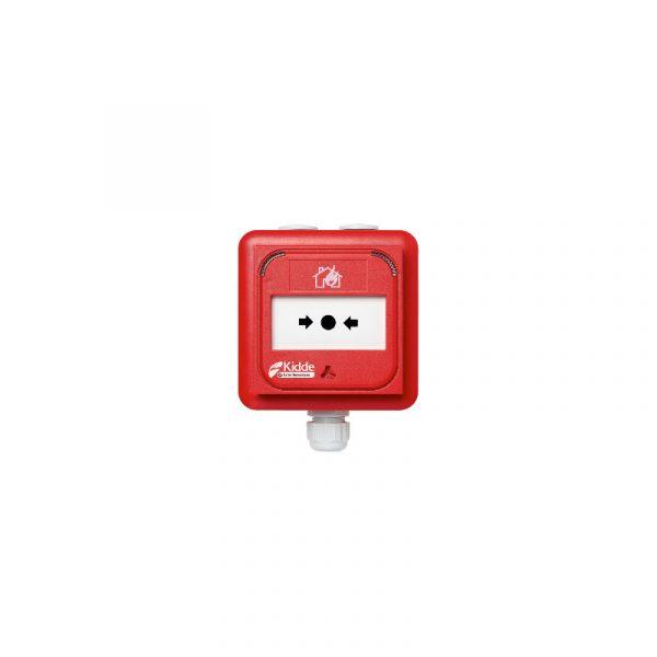 Buton adresabil de avertizare manuala incendiu Kilsen, constructie IP67 pentru exterior