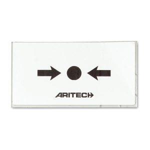 Geam buton EN54, ARITECH logo, set 10 bucati DM711